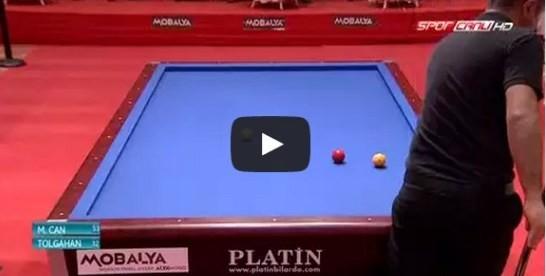 17.02.2015 Can Çapak – Tolgahan Kiraz Yarı Final Maçı