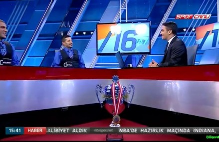 Murat Naci Çoklu ve Tayfun Taşdemir NTV Spora konuk oldu