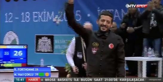 Dünya Şampiyonu Alkışlasın ! Murat Naci Çoklu
